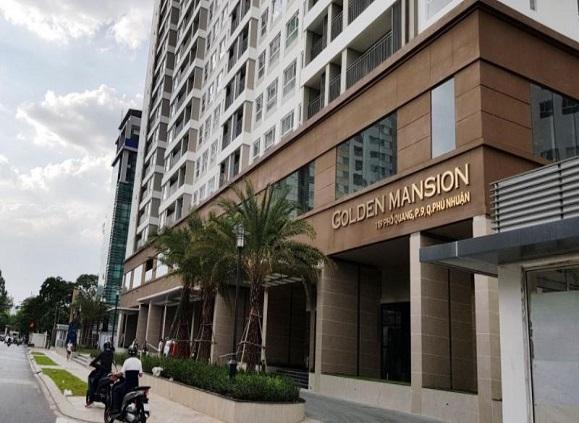 Cho thuê chung cư Golden Mansion Quận Phú Nhuận Hồ Chí Minh