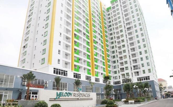 Giá căn hộ ở chung cư Melody Residence Âu Cơ hiện nay